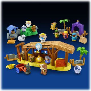 New Little People Nativity Collection Set 2011