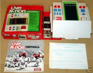 Kenner Electronic Handheld Live Action Football Game BX