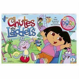 Chutes and Ladders Dora The Explorer Nick Jr New