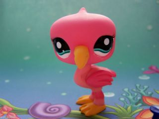 Littlest Pet Shop Lot Tru Coral Pink Flamingo 1740 New
