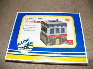 line K4224 K Lineville Classics Chez Lillian Restaurant Building Kit