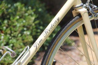 55cm Jim Redcay Path Racer Single Speed Road Bike  Steal