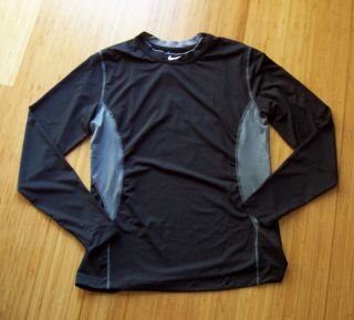NWT MENS NIKE PRO COMPETITION BASE LAYER LONG SLEEVE HYPERCOOL SHIRT