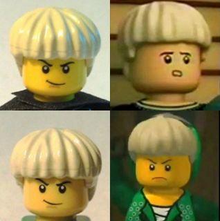 Lego Ninjago Minifigure Lloyd Garmadon or Lloyd ZX Green Ninja