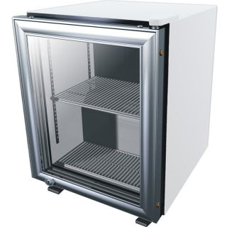 Beverage Display Cooler Fridge w Locking Glass Door Refrigerator