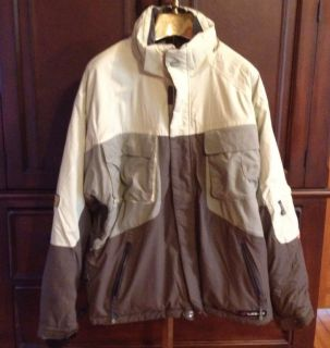 Mens Liquid Quattro Snowboard Ski Winter Jacket Coat Size Large
