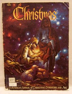 Christmas American Annual Literature Art Book 1971 68 Page