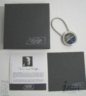 Frank Lloyd Wright Foundation Guggenheim Loggia Gate Key Ring