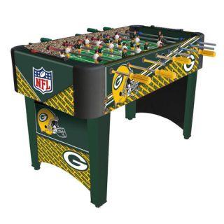 Green Bay Packers NFL Logo Foosball Table