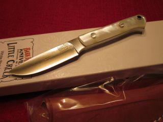 Jim Stewart Bark River Custom Prototype Hunting Skinner Knife