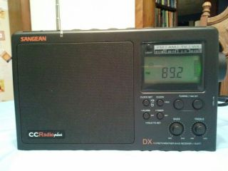 Sangean Ccradio Plus Am FM WX Long Range DX Portable Radio