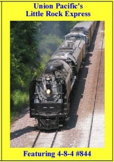 Train DVD Union Pacific 844 Little Rock Express