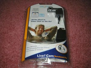 New Creative Live Cam Notebook Pro Webcam with Headset