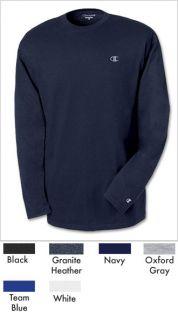 Champion Mens Jersey Long Sleeve Tee T2228