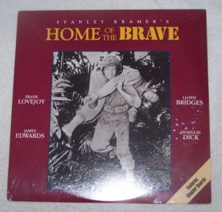 Home of The Brave 1949 Lloyd Bridges SEALED Price REDUCED