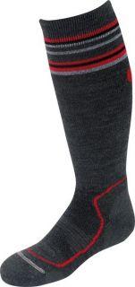LORPEN Kids Merino Wool Blend Ski Snowboard Socks Sz s M L Charcoal
