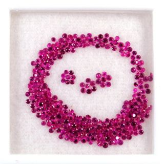 77 cts Natural Top Red Ruby Loose Gemstone Diamond Cut Round Lot
