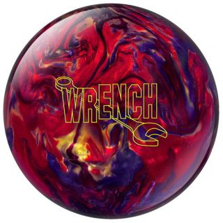 15 lb Hammer Bowling Ball Wrench Red Gold Purple Pearl