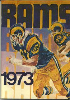 1973 Los Angeles Rams Media Guide