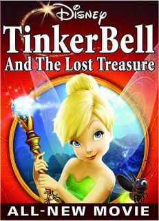 Tinkerbell and The Lost Treasure Walt Disney NIB