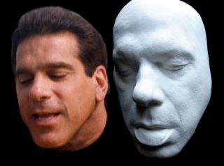 Lou Ferrigno Life Mask The Incredible Hulk Mr Universe