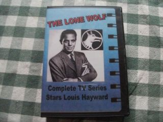 LONE WOLF, Complete 1954 55 TV Series, Louis Hayward, 6 DVD box set