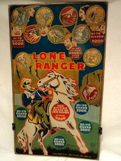 Ranger Metal Target Toy Game 1938 Louis Marx Co NY NY 16 x 27
