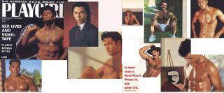 PLAYGIRL 4 91 LOU DIAMOND PHILLIPS DON MASTERS COCKSURES PETER ROMERO