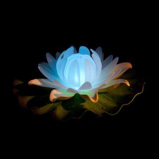 Floating Night Light Lotus Flower Colour Changing LED Lights