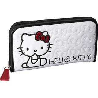 Loungefly Hello Kitty Quilted Bows Wallet White