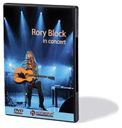 Rory Block Live in Concert St Louis Sheldon Hall DVD New