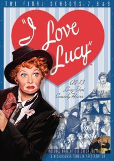 Love Lucy   he Complee 7h, 8h and 9h Seasons (DVD, 2007, 4 Disc
