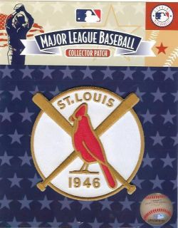1946 St Louis Cardinals World Series Patch Licensed