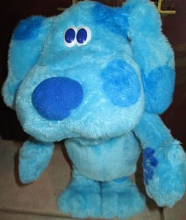 Fisher Price Plush blues Clues Singing and dancing Doll 14 tall Fisher
