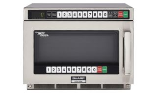 Commercial Microwave Oven Sharp R CD1200M 1200 Watts
