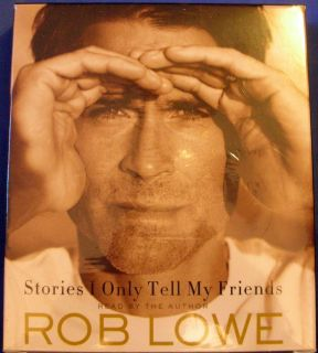 Rob Lowe Stories I Only Tell My Freinds Audiobook 7 Disc CD New