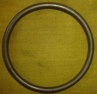 ST792 Montagnard Pru Brass Loyalty Bracelet Vietnam War Nung Marked