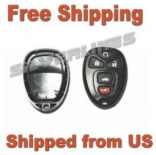 2006 2009 BUICK ENCLAVE LUCERNE 5 BUTTON REMOTE KEYLESS ENTRY FOB KEY