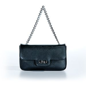Salvatore Ferragamo Luciana Bag Black Valentines Day Special
