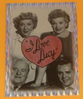 2001 Dart I Love Lucy 50th Anniversary Box Topper Card BT 1 NM MT