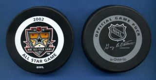 Los Angeles Kings 2002 Game Puck All Star Game