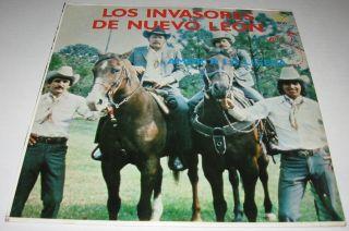 Los Invasores de Nuevo Leon Amor A La Ligera LP Norteño