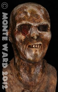 Zombie Resin Bust Lucio Fulci Life Size Sideshow Walking Dead