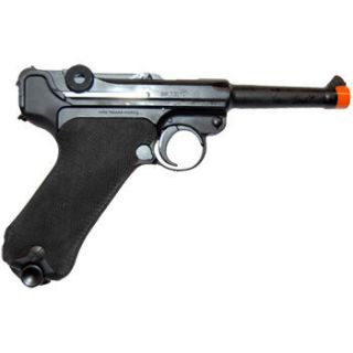 Airsoft Tanaka Luger P08 WW2 GBB Metal Replica Pistol Gun RARE 4 inch