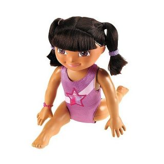 Brand New in Box Fantastic Gymnastics Dora Doll Fisher Price Fast