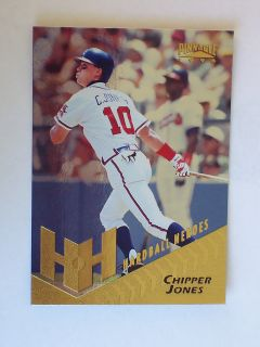 PINNACLE SERIES II FOIL VERSION hardball heroes CHIPPER JONES #266