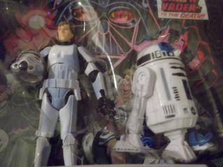 Star Wars Comic Packs 4 Luke Skywalker R2 D2 New in Package