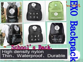 Exo K Backpack Back to School K Pop Gift Kris Luhan Sehun Bag