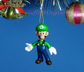 Ornament Home Party Christmas NINTENDO Super Mario Bros Luigi R4