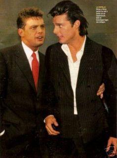 Luis Miguel Ricky Martin Argentina Magazine 1996